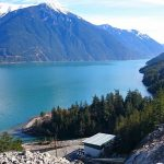 Harrison Lake located 10 kilometres east of Fleetwood