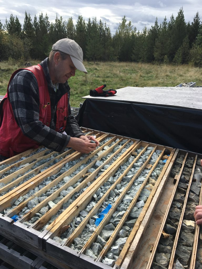 2019-10 John P Looking at Beaver Core-right